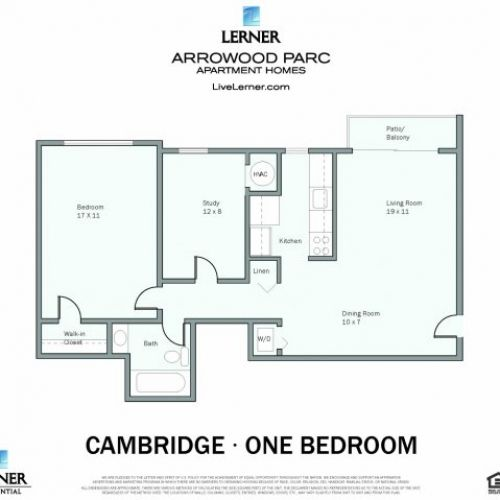The Cambridge #ApartmentHome is the perfect one bedroom to start you off! Visit our website for more #information: http://bit.ly/1NTXy8c