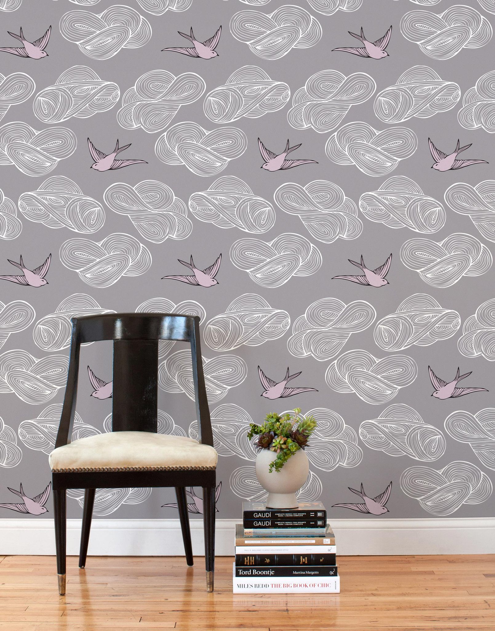 Daydream (Lavender) Tiles Tile Wallpapertemporary