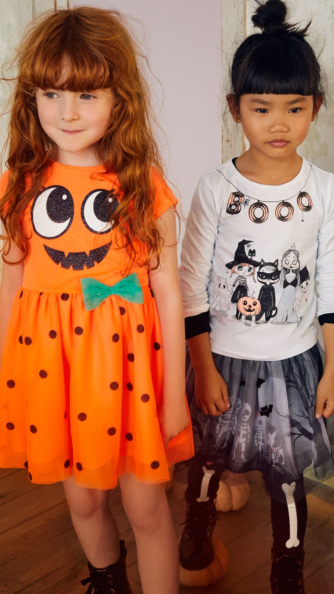 Say Boo In Pretty Dresses, Scary T Shirts And Spooky Prints: Thrilling  Fashion