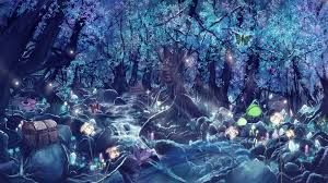 colorful fantasy forest - Google Search