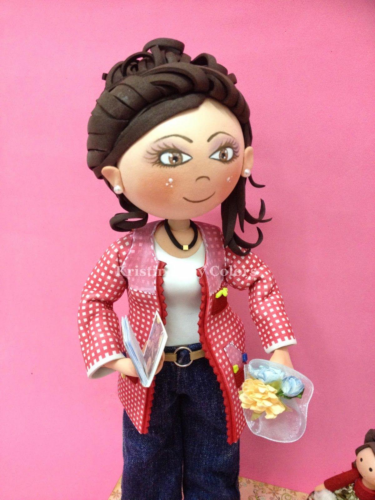 Blog sobre manualidades artesanas personalizadas,  fabricadas en foami, tela, goma eva, etc. ¿Necesitas una meñeca personalizada? esta es tu web.