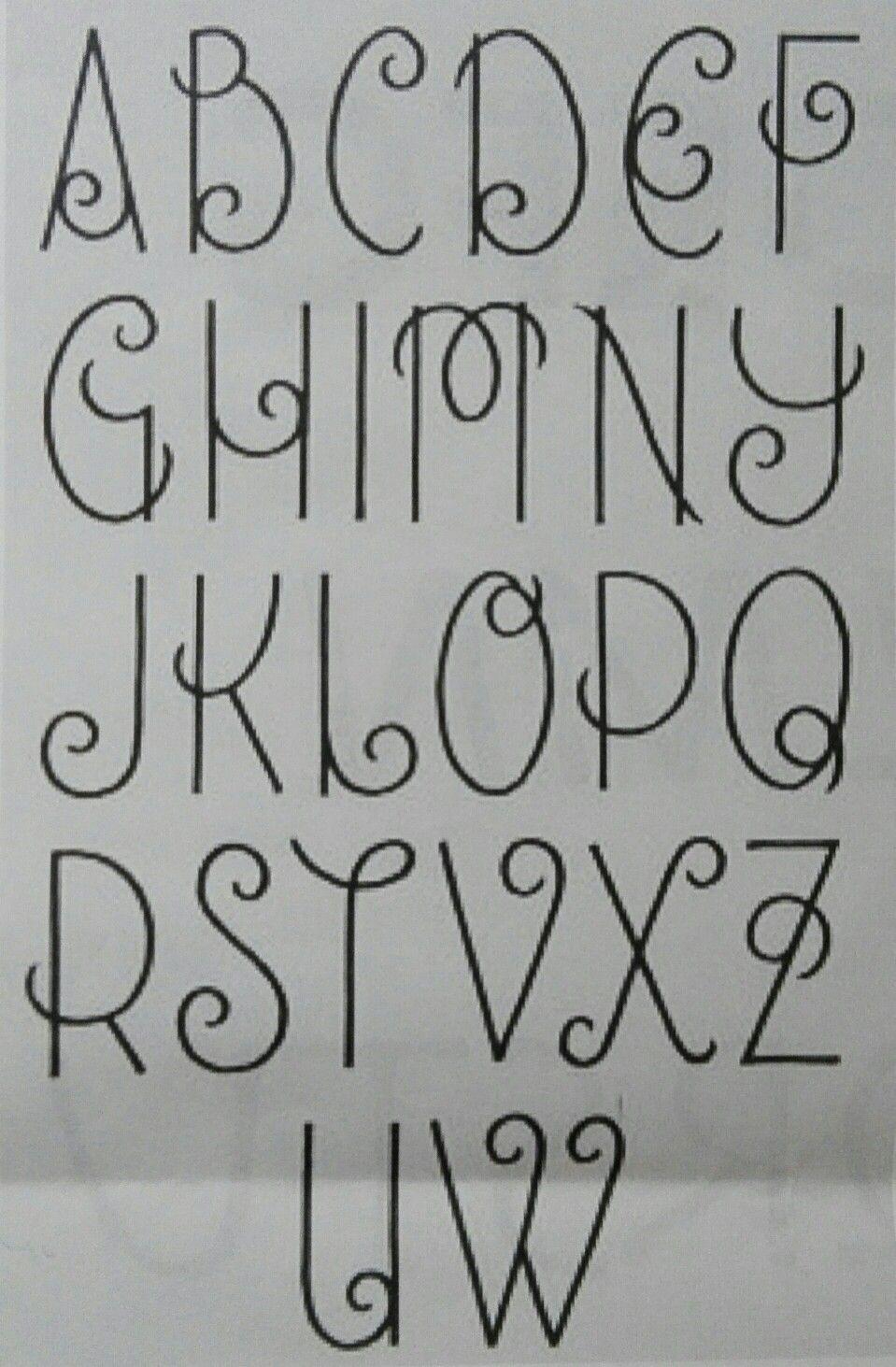 Super Sierlijke letters | Fonts and designs | Pinterest | Bullet  YL16