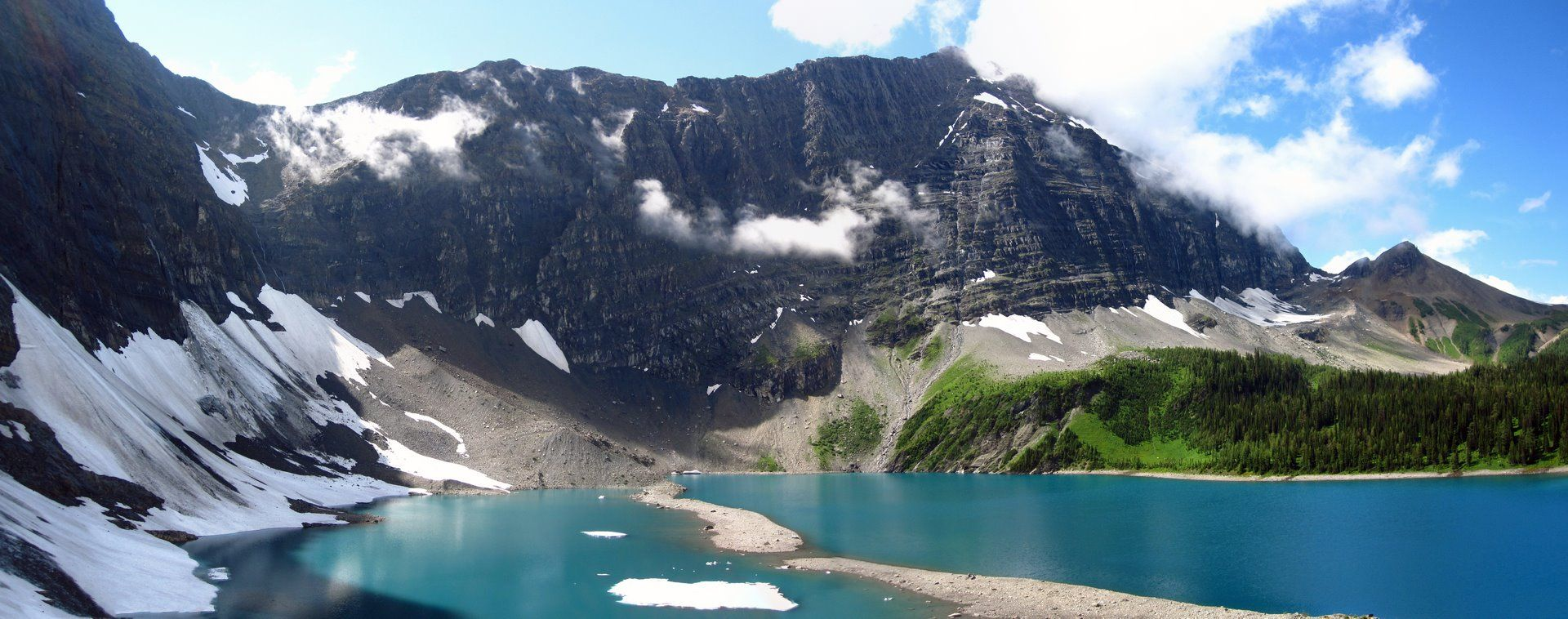 Flow Lake - BC Panorama Photography | Learn This