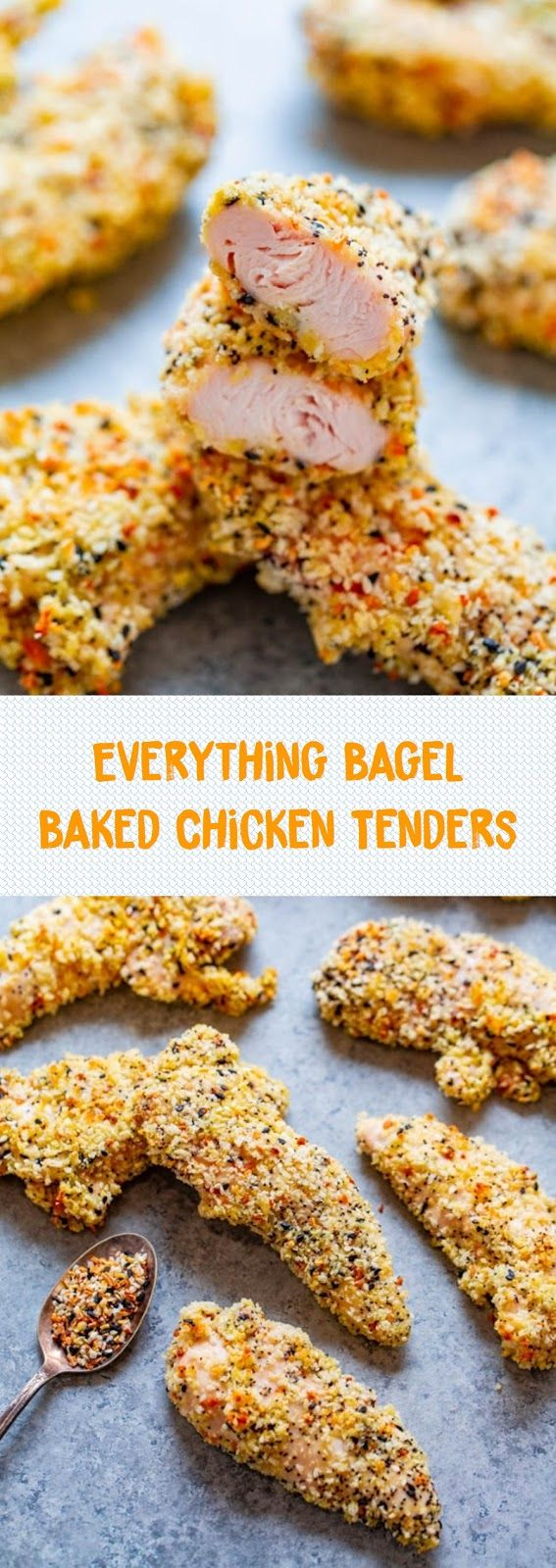 Photo of Everything Bagel Baked Chicken Tenders