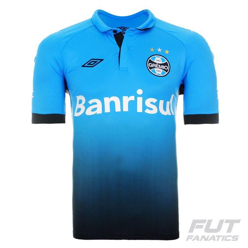 682f362ba3b Camisa Umbro Grêmio III 2015 Mais
