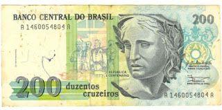 Cedulas Brasileiras E Estrangeiras Cruzeiro