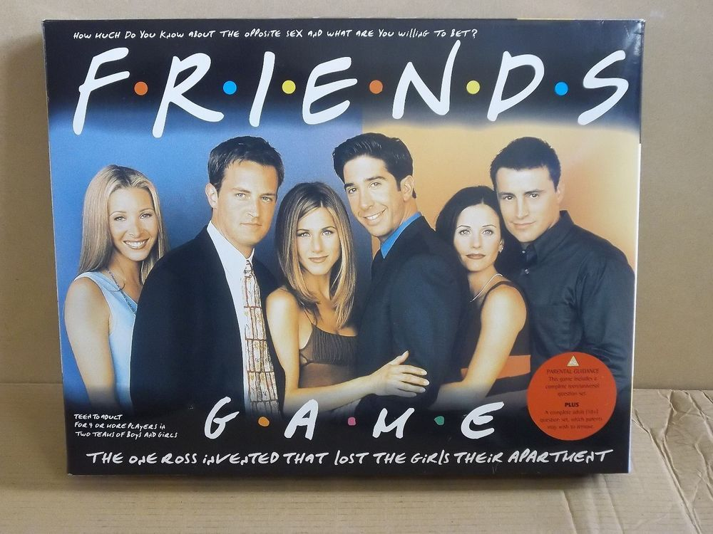 Friends Game Fun Family Game With Separate 18+ Questions Fully Playable But...