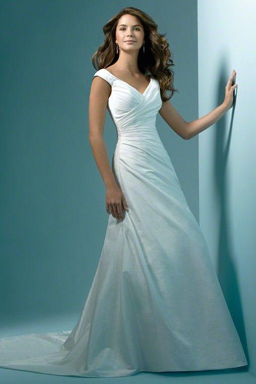 wedding dress for apple shape - Google Search | Dream Wedding ...