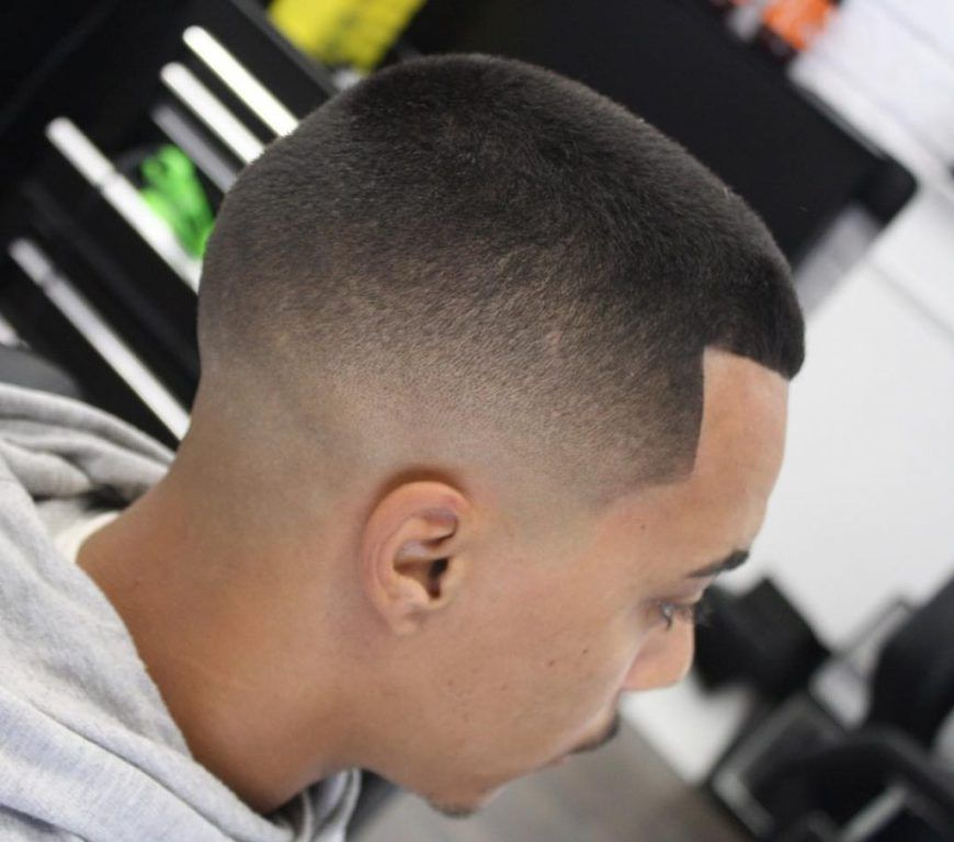 Thick Hair Sharp Fade Very Short Haircuts For Men Pinterest