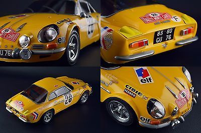 Tamiya 110 Rc M06 Rwd Chassis With 1971 Alpine Renault A110 1600s