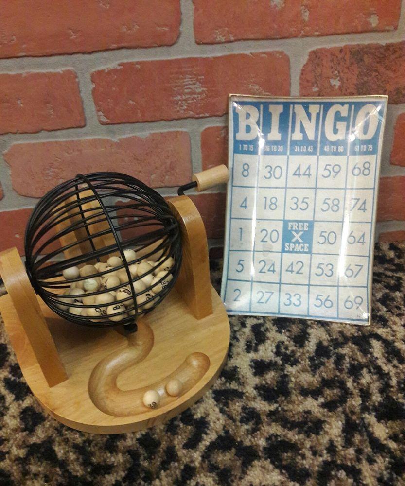 Vintage Style #Bingo Card Glass Trinket Tray Valet Display Nostalgic Home  Decor