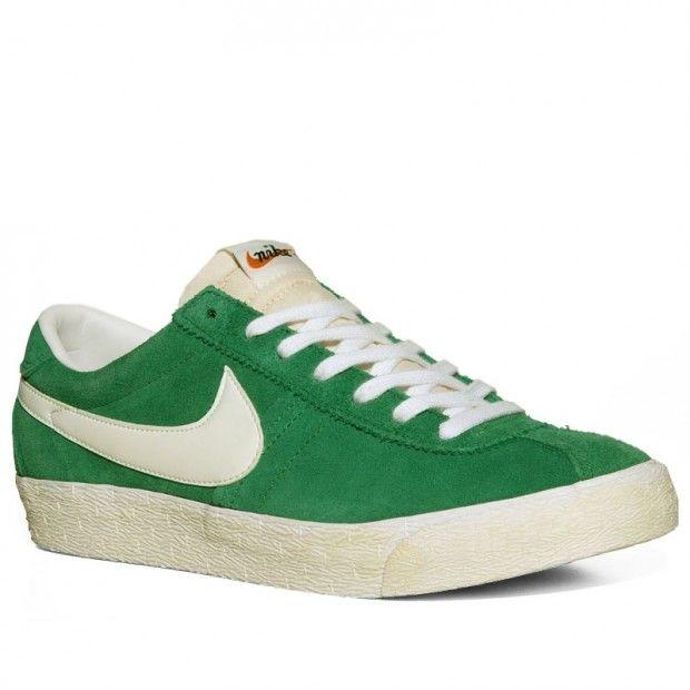 best loved b7e72 04c7b Nike Bruin Vintage Green White