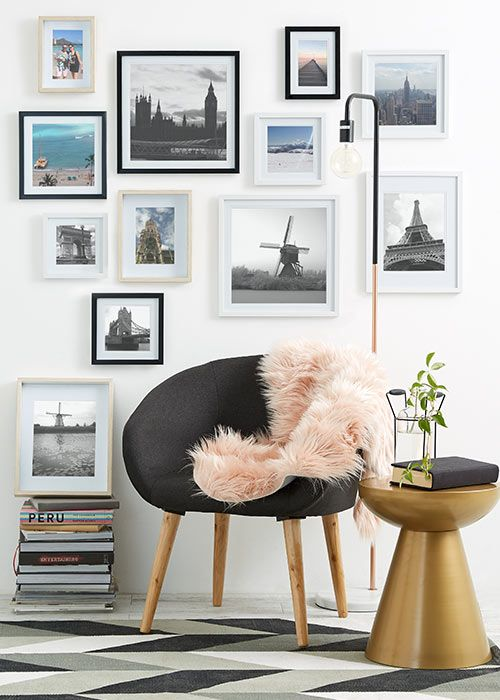 Kmart Style · Hamptons HouseHampton StylePhoto WallsSitting RoomsArt ...