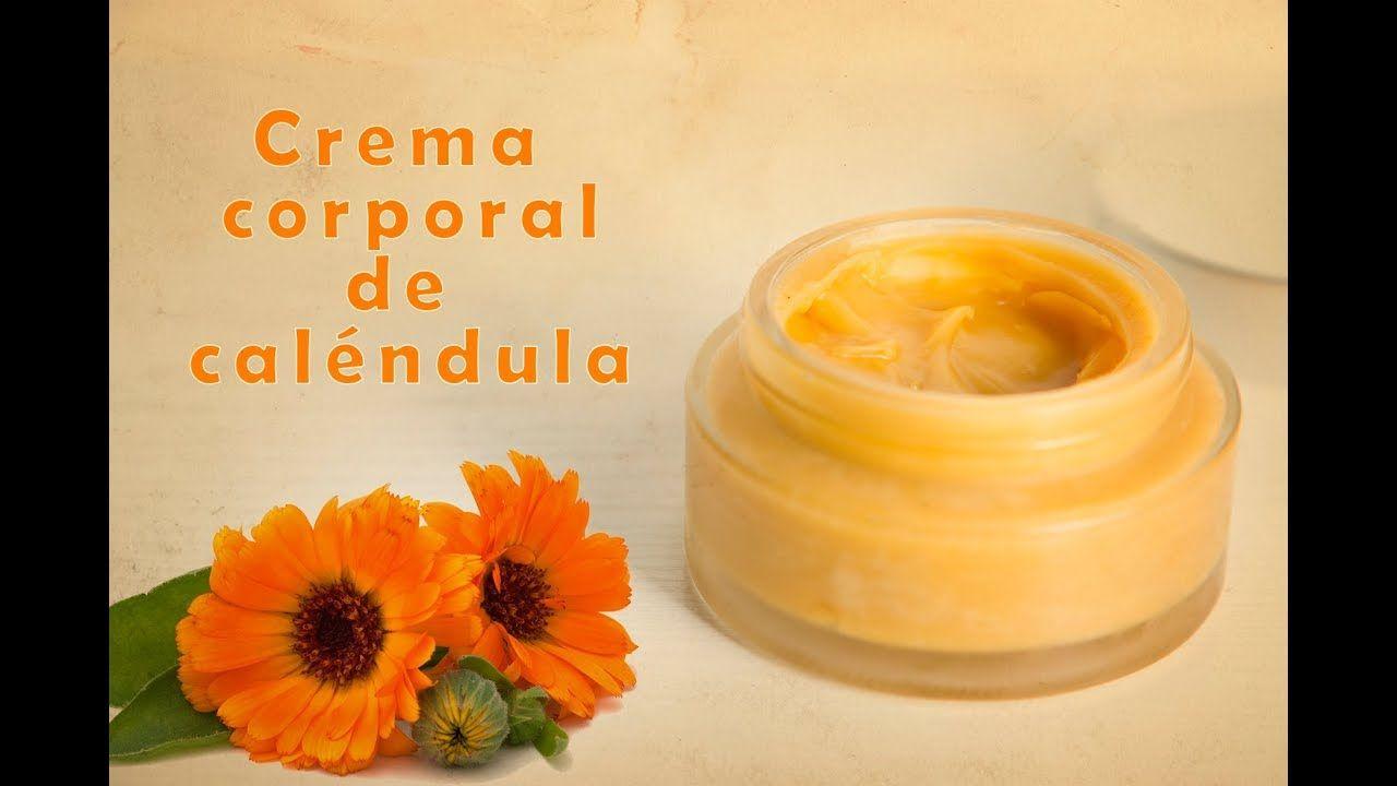 Crema Muy Hidratante Corporal De Calendula Cosmetica Natural