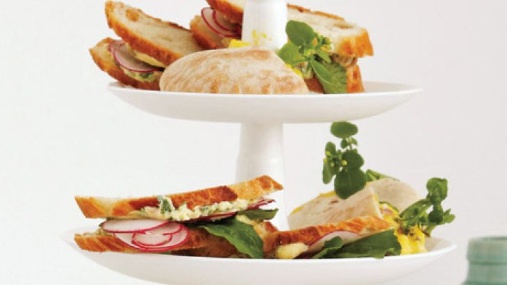 Shaved-Radish Sandwiches with Herb Butter | Munchie ...