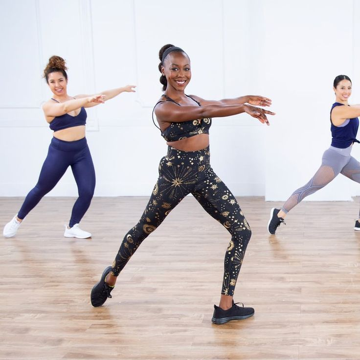 30-Minute Dance Cardio and Barre Toning Workout — POPSUGAR