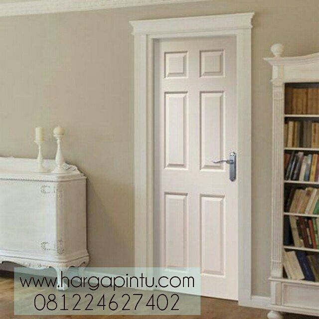 Desain Pintu Kamar 6 Panel Kayu Mahoni Finisihing Duco Pintupanel Pintukamar Pintukamarmurah White Interior Doors Doors Interior Wood Doors Interior