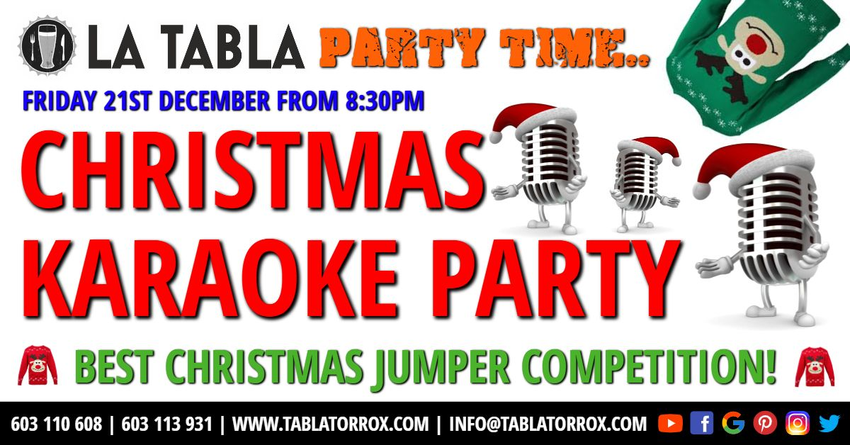 Karaoke Christmas Party.Christmas Karaoke Special Who Will Be Crowned Christmas