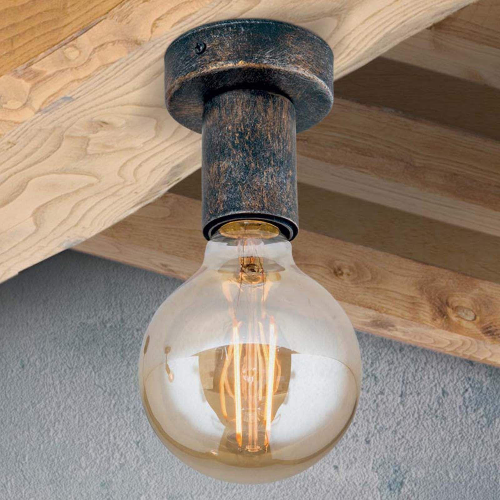 Vintage Deckenleuchte Rati Von Orion Braun Lampen Deckenlampe Antik Und Vintage Lampen