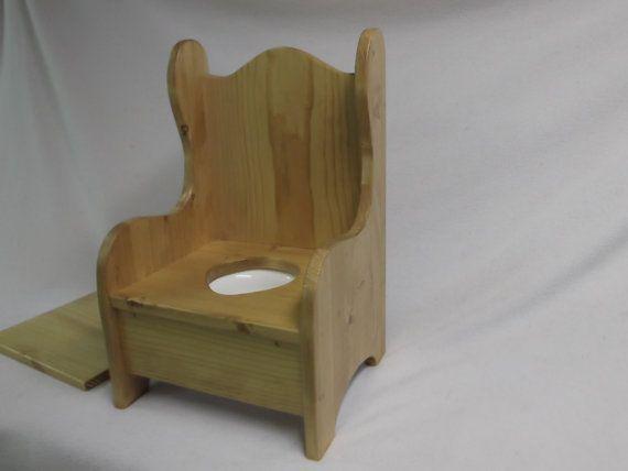 Genial Wooden Potty Chair By WonderWoodShop On Etsy