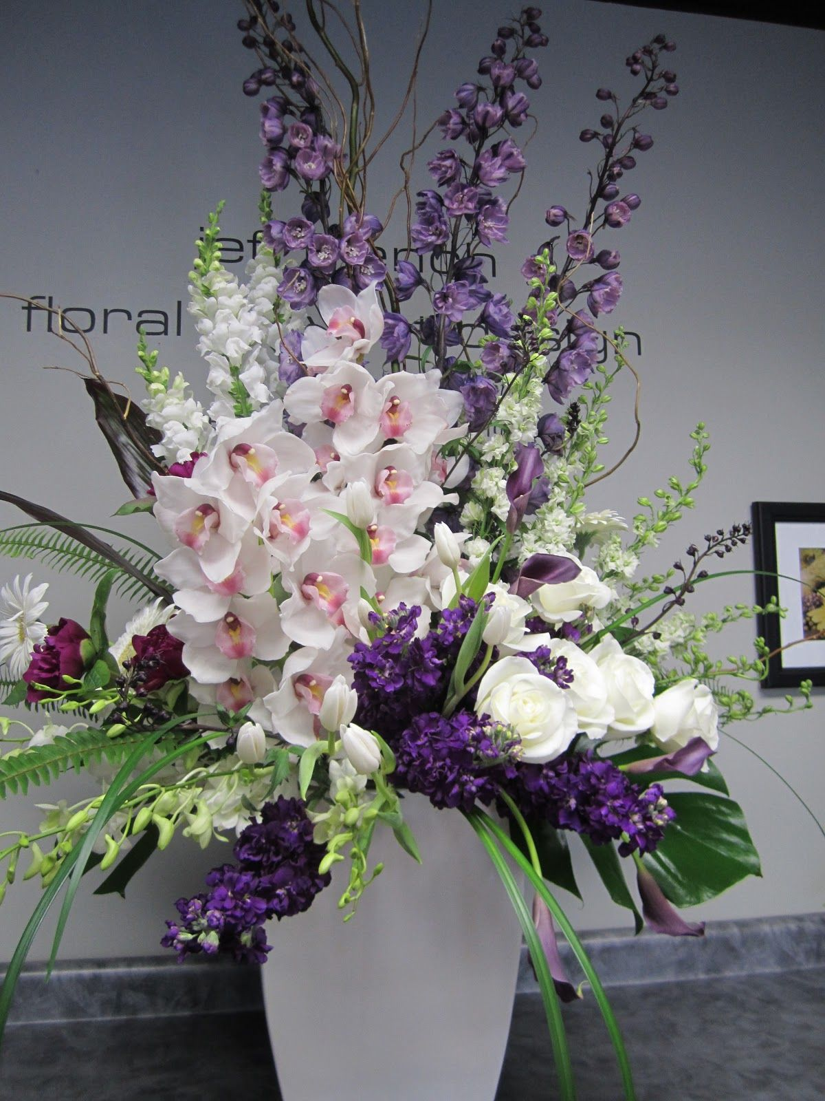 Arcadia Floral And Home Decor Funeral Arrangement By Jeff French Floral And Event Design