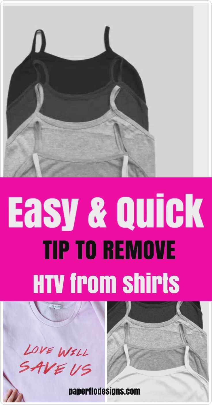 How to remove print from tshirts with images cricut