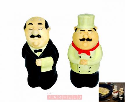 Sali¨re et poivri¨re Serveur et Chef acceuil