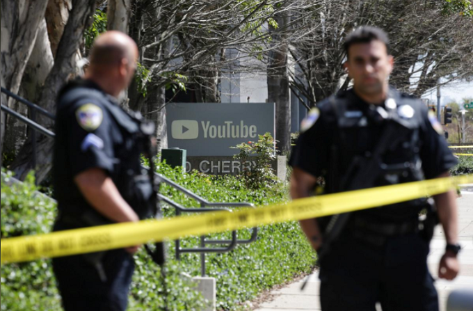 Woman wounds three at YouTube headquarters in California