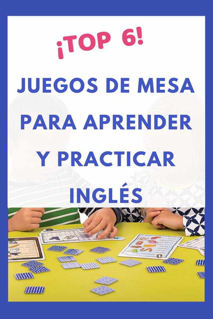 Los Mejores Juegos De Mesa Para Aprender Practicar Y Repasar Ingles