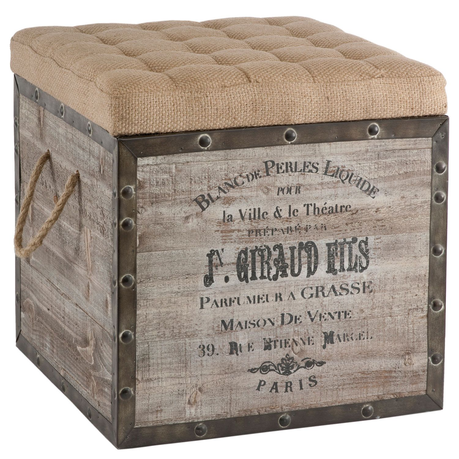 Aidan Gray Furniture Storage Cube AGF140BPL  Not sure about the price, but cool concept.
