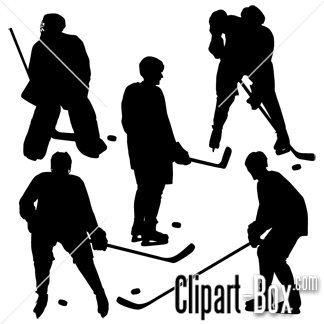 Clipart Hockey Players Hockey Players Hockey Silhouette