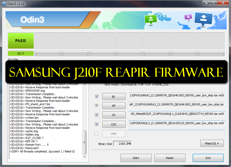 Samsung J210F 4 File Repair Firmware Free Download