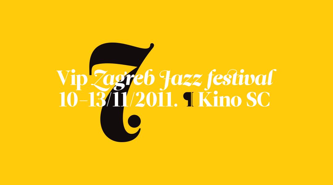 7 Vip Zagreb Jazz Festival On Behance Jazz Festival Zagreb Festival
