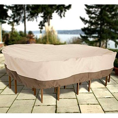 Veranda Patio Table And Chair Set Cover Provides A Highly Water