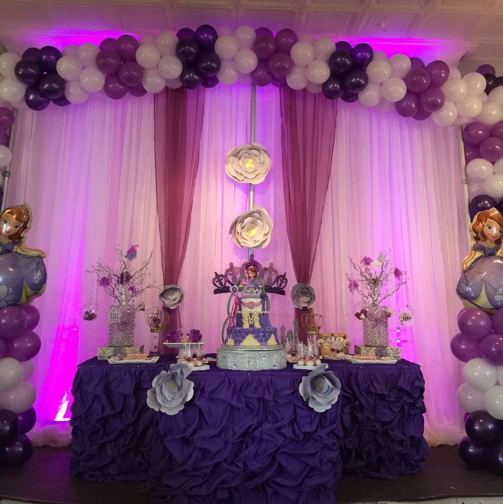 Sofia the First Birthday Party Ideas | Birthday party ...