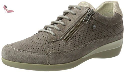 Stonefly Easy 1, Sneakers Basses Femme, Gris (Taupe 423), 35 EU