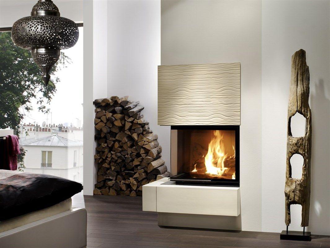 Brunner Kaminbausatz Systemkamin BSK 02 Eck Kamin #interior#design#kamin# Wohnzimmer#