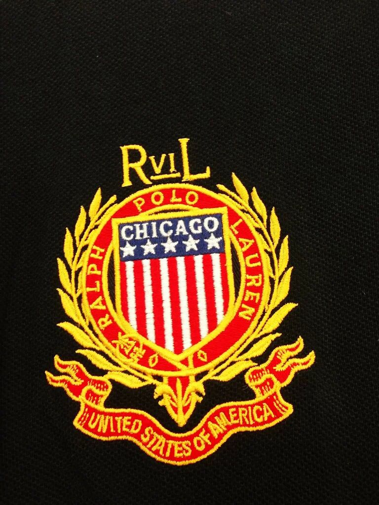 Ralph Lauren Polo, Chicago (With images) Embroidery