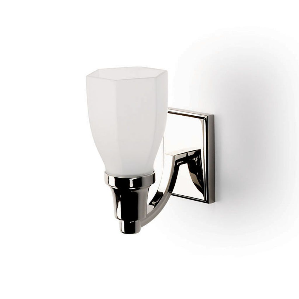 Easton wall mounted single arm sconce with cone shade