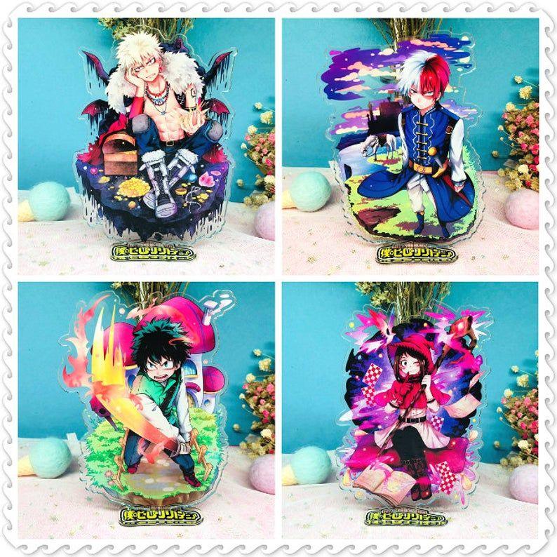 My Hero Academia Midoriya Izuku bakugou katsuki acrylic stand figure double-side