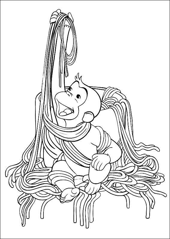 Coco Der Neugierige Affe Ausmalbilder 35 Ausmalbilder Pinterest