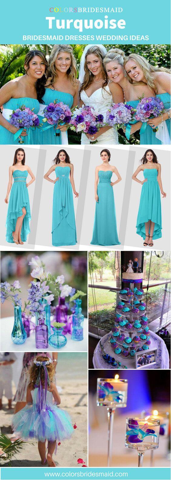 Turquoise Bridesmaid Dresses Turquoise Bridesmaid Dresses
