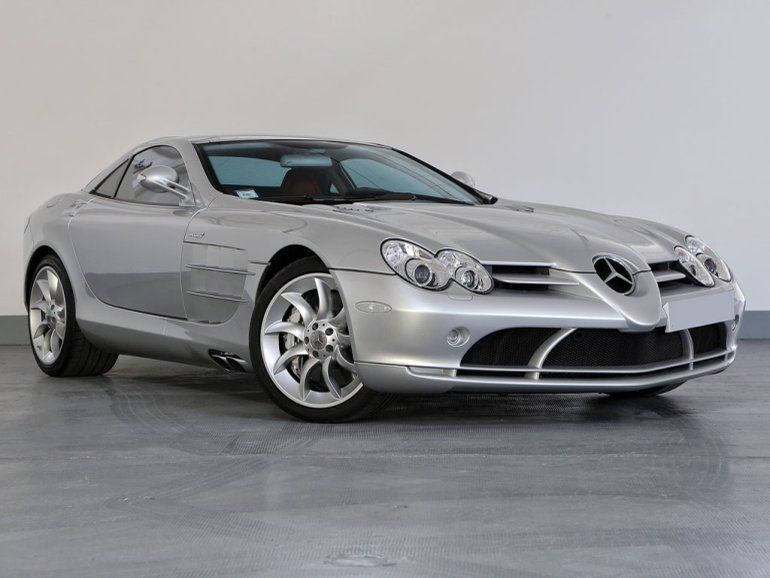 2007 Mercedes Benz Slr Mclaren Offered For Auction 1794713 Slr Mclaren Mercedes Slr Mercedes Slr Amg