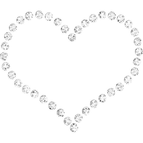 bling heart.png ❤ liked on Polyvore featuring fillers, hearts ...