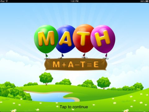 Math Mate 1.99 ★★★★ I've had kids from Kindergarten to