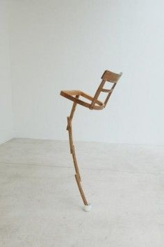 Jamie Pitarch DECONSTRUCTED AND RECONSTRUCTED CHAIR