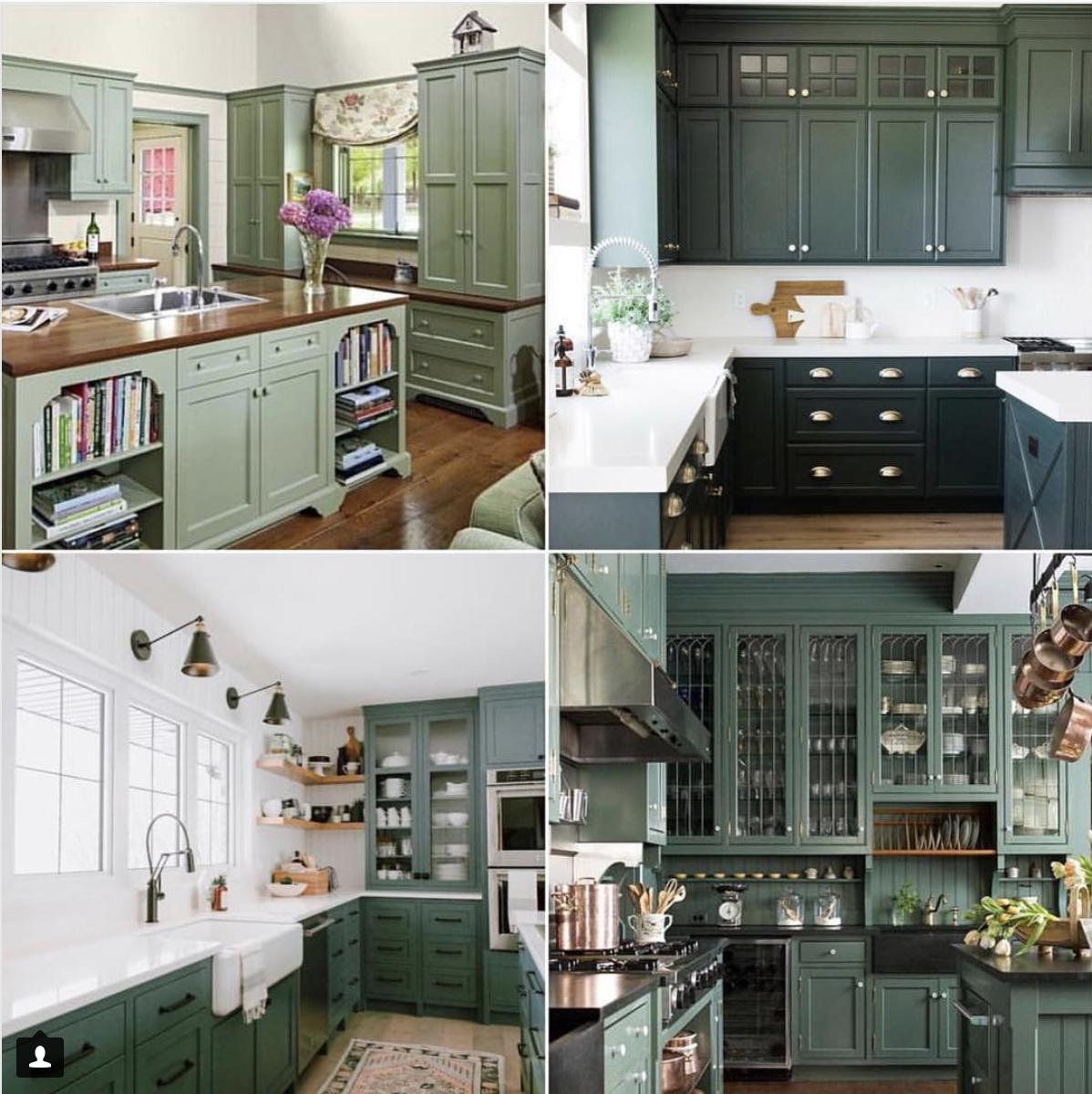 Green kitchen th street home interiors in pinterest