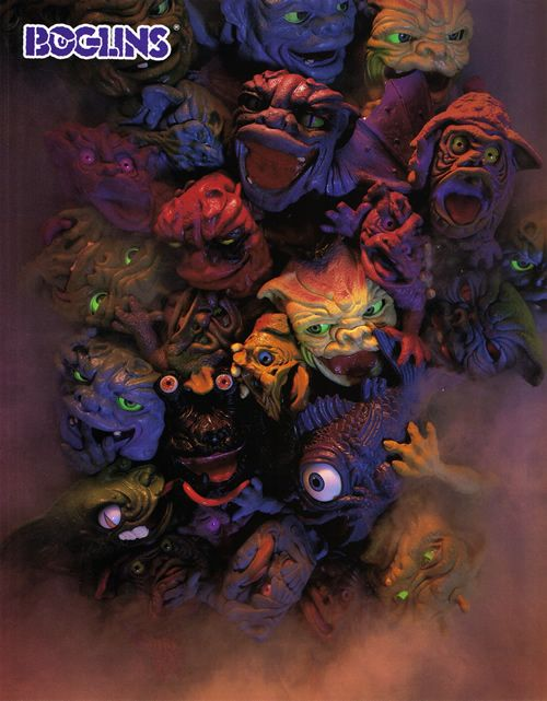 Boglins. My older sister had one of these. Scared the shit out of me.