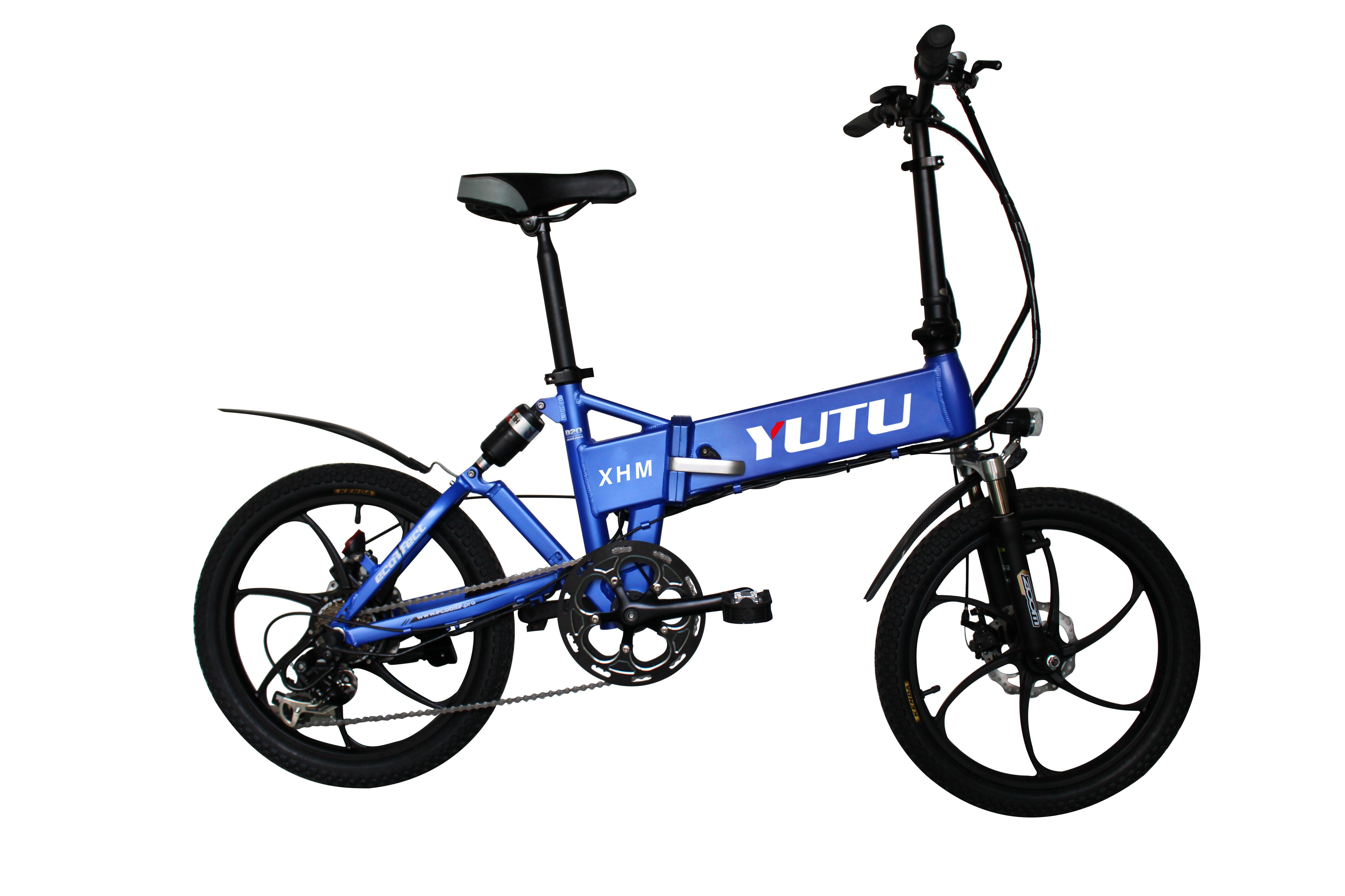 20 Electric Folding Bike 36v 9ah Samsung Core Lithium Battery