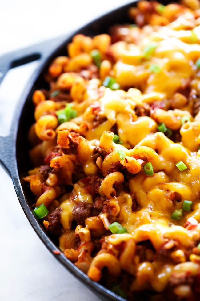 Taco Mac and Cheese - Chef in Training #tacomacandcheese